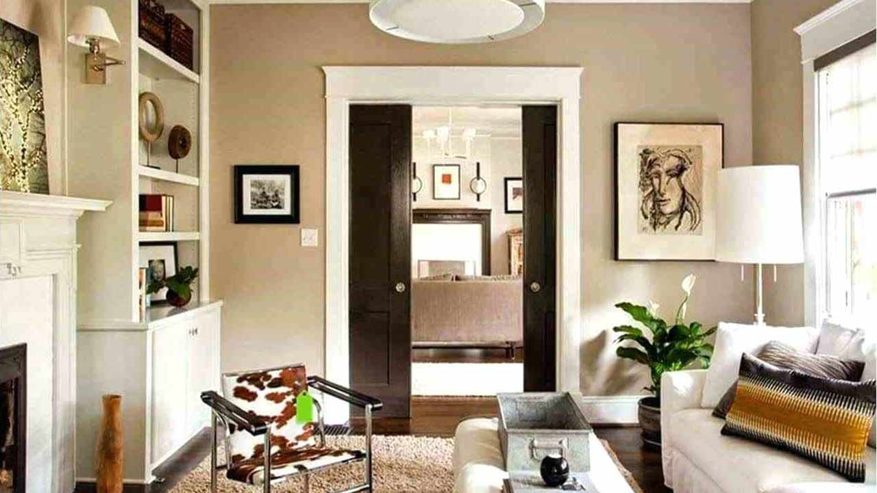 desain rumah dengan warna krem