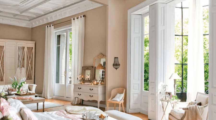 warna ruangan cokelat huzelnut