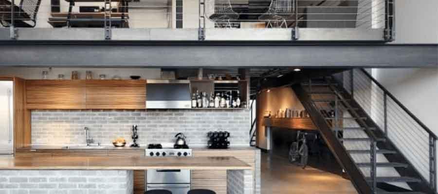 desain interior industrial